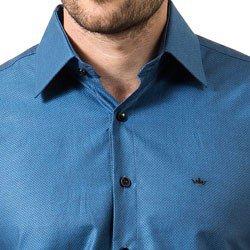 detalhe camisa fio egipcio maquinetada buon giorno malvino tecido