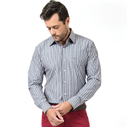 detalhe camisa listrada masculina buon giorno santhiago look