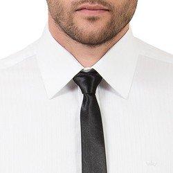detalhe camisa social branca fio egipcio masculino buon giorno heitor colarinho